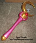 SM Crescent Moon Rod New2 by CosplayPropsEtc