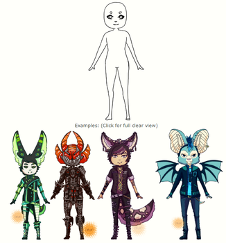 Customs/redesigns/outfits [closed] by DevilsCider