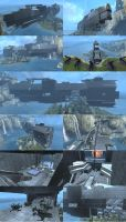 FORGE UNSC CARRIER by D4RKST0RM99