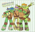 Turtles bros! by LinART