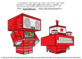 Cubeecraft - BlockyBot and TriBot by CyberDrone