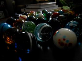giant marbles by Colliequest
