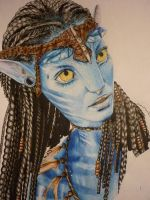Neytiri Avatar by MR by RuggiArt