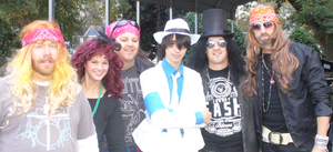 Halloween Photos: MJ meets Guns and Roses by conkeronine
