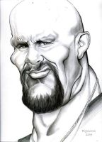 Stone Cold Caricature by TheBigGunns