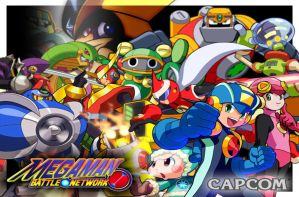 Megaman Battle Network Poster by balade