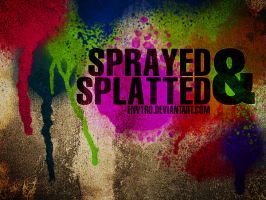 Got Sprayed Photoshop brushes by env1ro