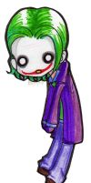 joker paperchild C: by PrincessBlackRabbit