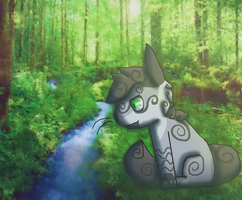 River Ripple: By The Stream by RStheCat