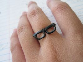Glasses Ring by michellama