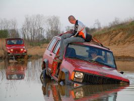 Chad, stuck. by WeezyBlue
