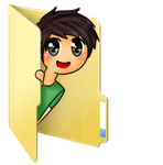 Tobuscus folder icon by Rainbow-fiedKitty