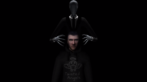 Richard and The Being (Faceless) by ninonybox