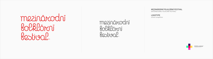 Int. Folklore fest logotype by porcelainkid