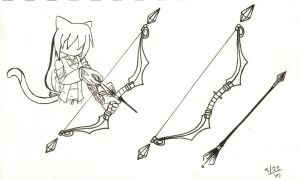 Yui's Bow and Arrow Design by SanctifiedVengeance