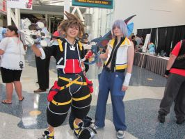Kingdom hearts cosplay by Piplup501