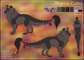 Panna Cotta's Reference sheet [April 2013] by Peace-Colby