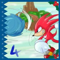 Sonic Advent Calendar: 4th by Feniiku