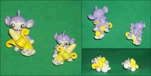 Aipom Banana Charms by Ayotunde