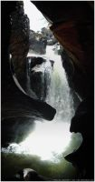 internal waterfall by nd-