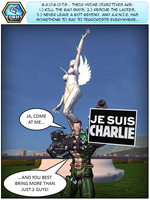 Je Suis Charlie: This Unit Is Redesignated CHARLIE by not1stepbackwards