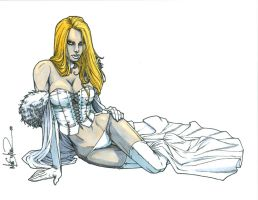 Copic Colors No11 - Emma Frost by ChrisShields