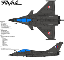Dassault Rafale A by bagera3005