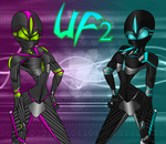 Unreal Fairy 2 Cyber style cover by AshlyStorm