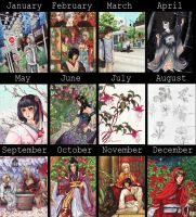 2011 summary of art by Melbourne-Cha