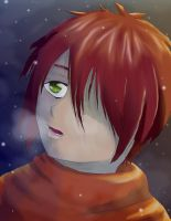 Leonel In Snow by wolfsmoon22