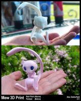 Pokemon Mew - 3D Model Print by ADEdge