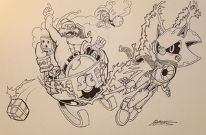 Eggy Christmas Inks (Photo) by Ziggyfin