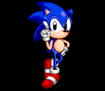 Classic Sonic With Pixel by sonictopfan