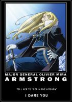 Daring to Armstrong by Spring-O
