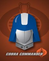 Cobra Commander-Headshot by LegoStroke