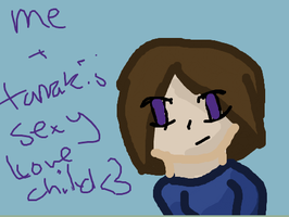 me and Tamakis child iScribble by animlcrosr