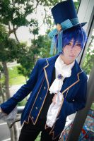 Vocaloid Alice in Musicland - Kaito by Xeno-Photography