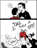 Red Shirt p2 by Batwynn