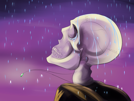 Even the Reaper Weeps by Whitelupine