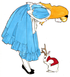 Alice and the Jackalope by the-last-jackalope