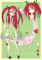 Closed! CRAB  APPLE ADOPTABLE by Motaii