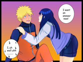 I WANT AN ANSWER NOW! {Naruhina} by XNanatan