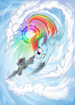 Sky Fight by Sea-Maas