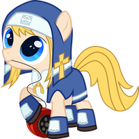 Guilty Gear's Bridget Ponified by DestinyProgenitor