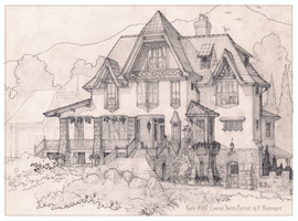 House 387 French Shingle Style by Built4ever