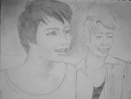Chris and Maxxie by greengal14