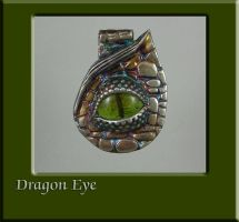 Dragon Eye Pendant by nativeart