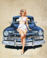 Hot Rod Hot Pants by Pinup-Art