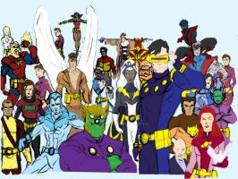 X-Men + Legionrough = Legion of X-Men by Needham-Comics