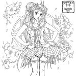 Anime Coloring Page by UnmaskArt